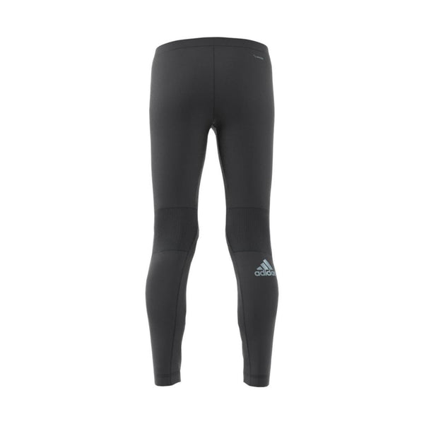Black Adidas Boy's Training Run Tights