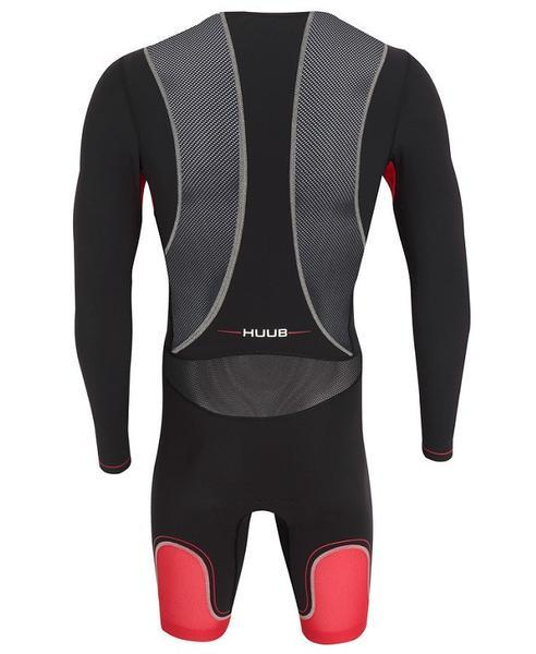 Rear view of the Huub Core Full Sleeve Tri Suit - Helix Sport