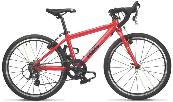 Frog 67 Road Bike for children, red