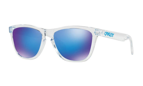 Transparent Oakley Frogskins Sunglasses