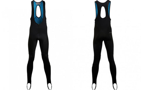 Café Du Cycliste Men's Martine Bib Tights with Chamois