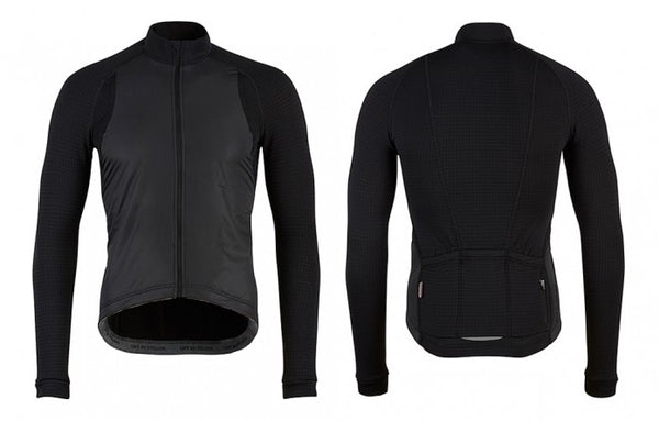 Café Du Cycliste Men's Patricia Long Sleeve Windstopper Jersey