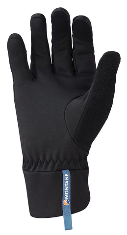 Right hand Black Montane Men's Via Trail Glove - Helix Sport