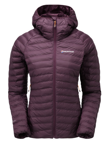 Saskatoon Berry Montane Women's Synthetic Insulation Phoenix Jacket - Helix Sport