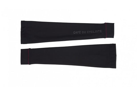 Cafe Du Cycliste Black Thermal Arm Warmers