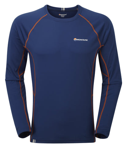 Blue Montane Men's Next To Skin Sonic Long Sleeve Tee - Helix Sport