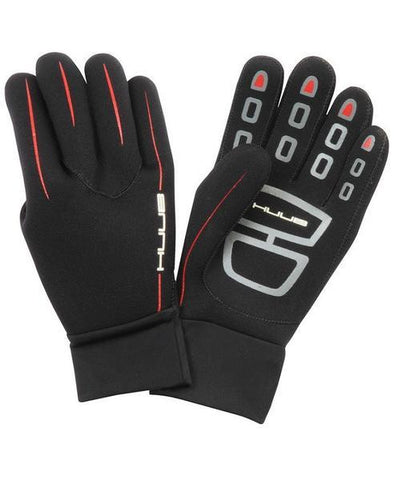 Black Huub Neoprene Swim Gloves - Helix Sport