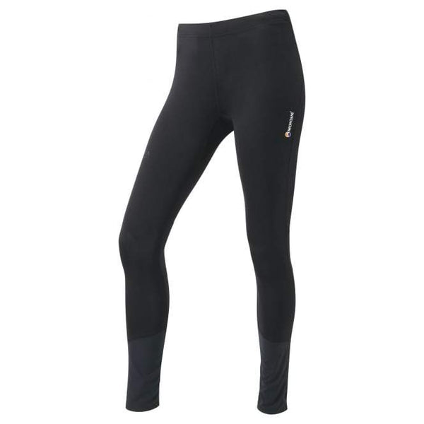 Black Woman's Montane Trail Series Long Tights - Helix Sport
