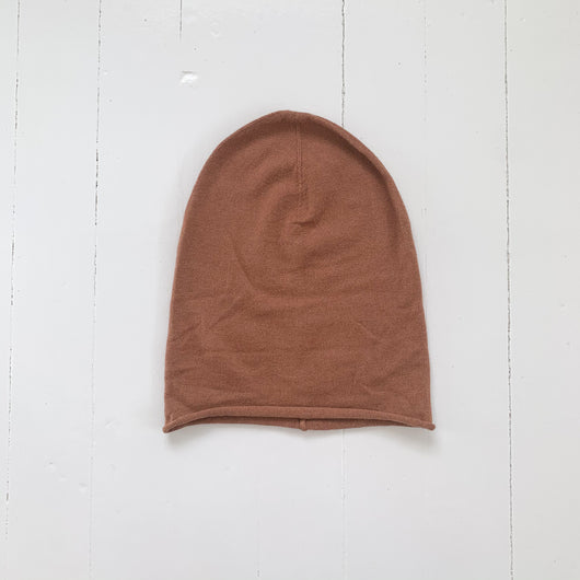 Little savage beanie, øko Merino str. 18 mdr
