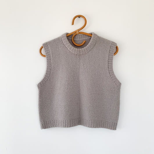 Håndstrikket Vest No. 1 str. X-Small