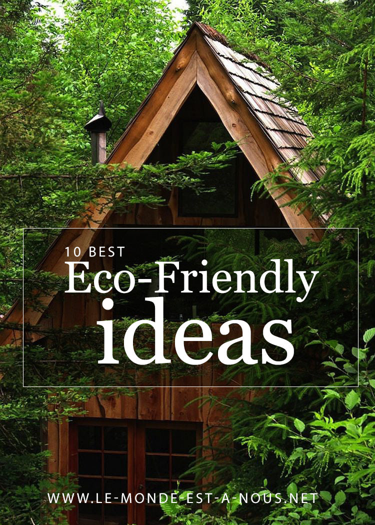10 best eco friendly ideas