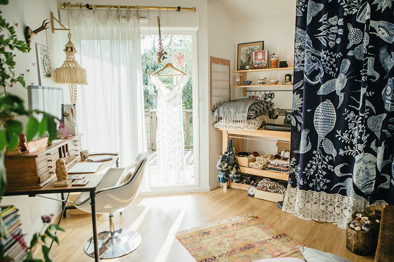 Bohemian Workspace LMEAN x Anthropologie 10