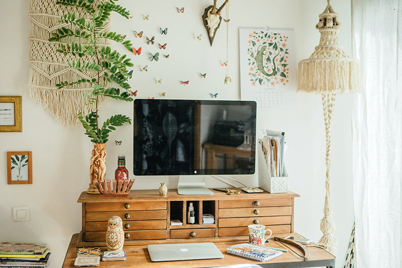 Bohemian Workspace LMEAN x Anthropologie