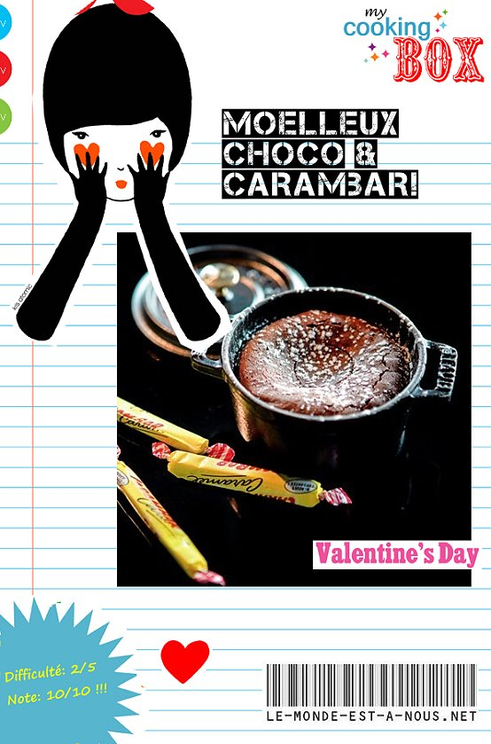 COOKING BOX - MOELLEUX CHOCO CARAMBAR
