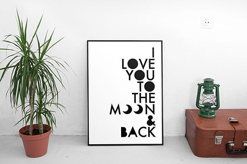 I love you to the moon and back 500