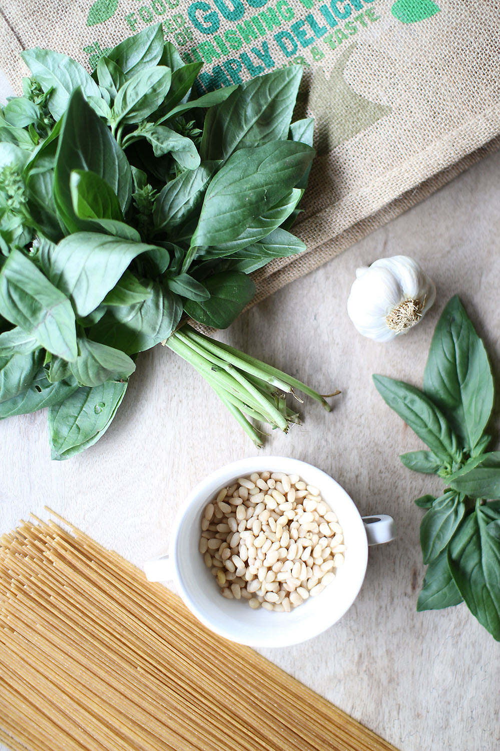 Recipes Pesto Spaghetti 3
