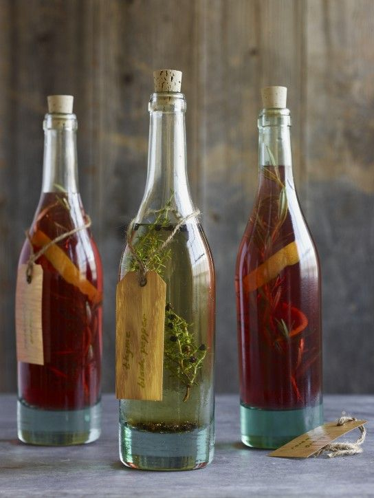 infused vinegar