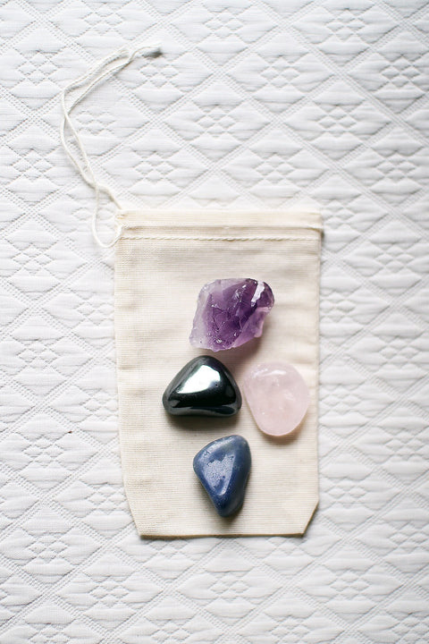 Gemstone Healing Set: Love & friendship