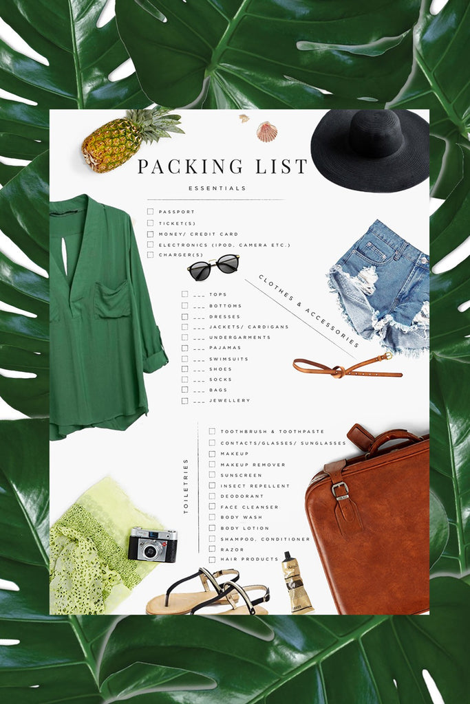 Boho Packing List!