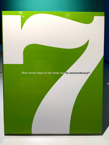 7 YEAR BOOK - How Many Days Of The Week Can Be Extraordinary?
