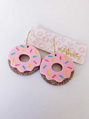 Donut Hoops - Blush
