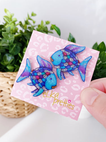 Rainbow Fish - Mega Studs