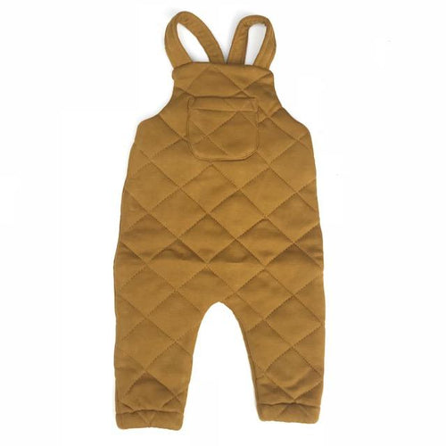 Frankie Jones The Label Quentin Quilted Overall- Golden