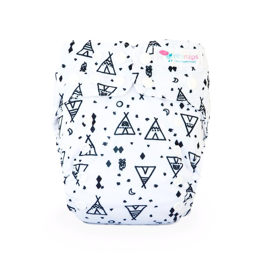 EcoNaps Tipi Dreaming Cloth Nappy