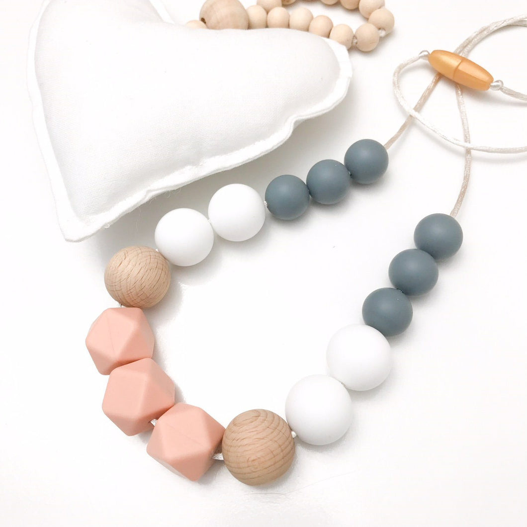 ONE.CHEW.THREE Poppy Silicone Necklace