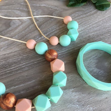 ONE.CHEW.THREE Geo Silicone Teething Bangle