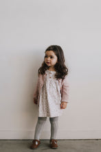 Jamie Kay Cable Cardigan- Rose Smoke