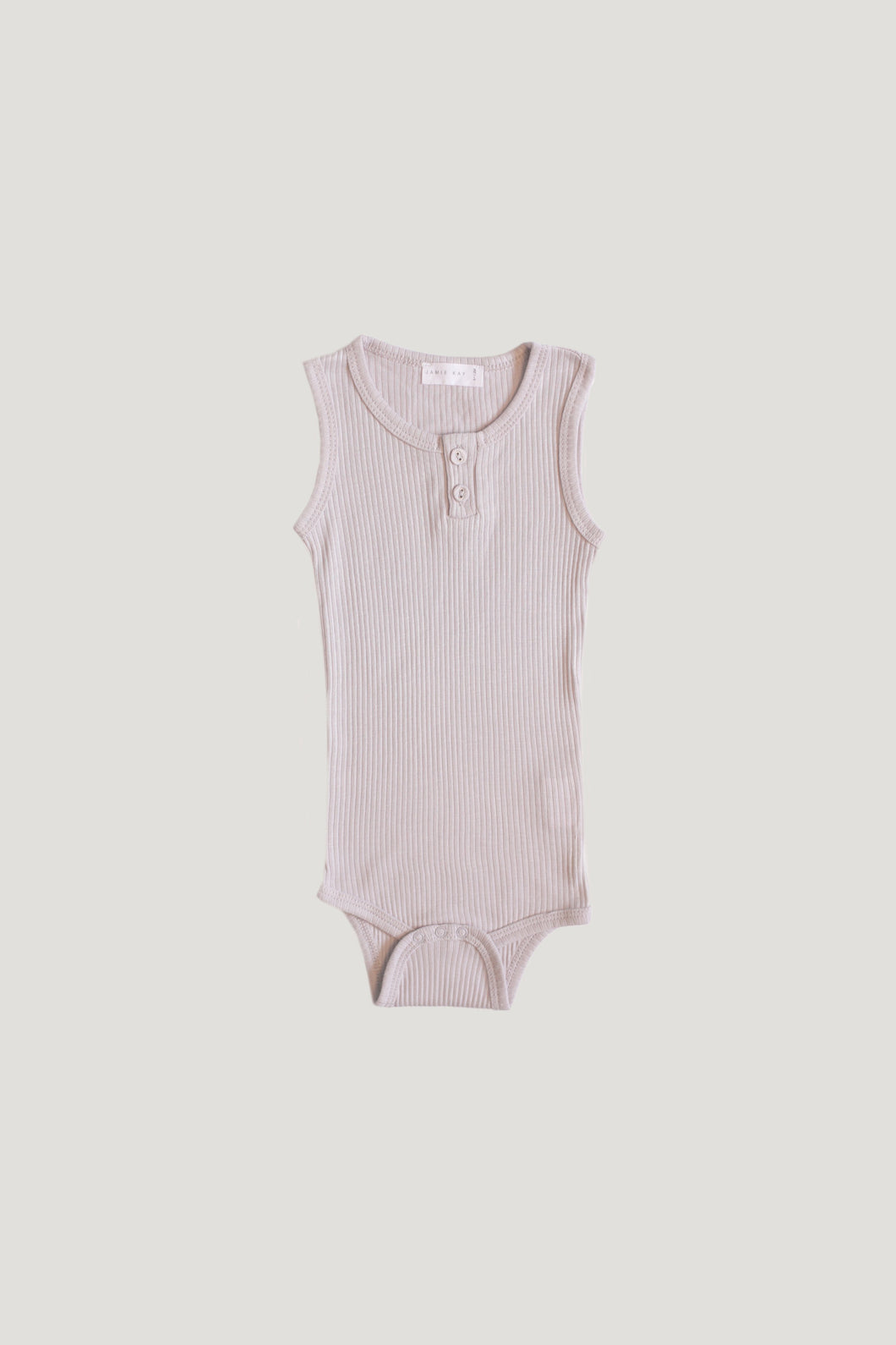 Jamie Kay Cotton Modal Essentials Singlet Bodysuit - Iris