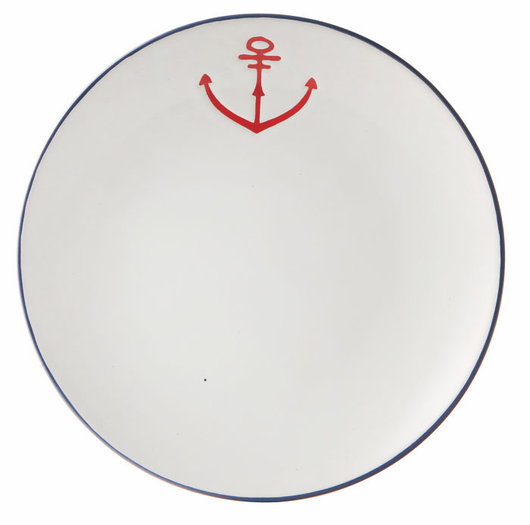 Side Plate with Anchor Detail