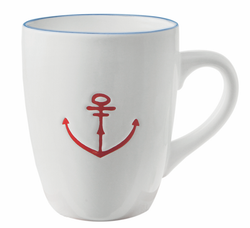 Mug with Anchor Detail