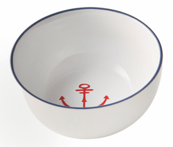 Bowl with Anchor Detail