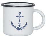 Enamel  Mug  'Your Heart my Anchor'