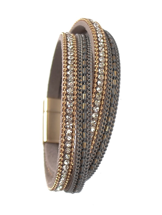 Double Wraparound Bracelet - Alice