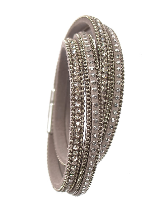 Double Wraparound Bracelet - Catherine