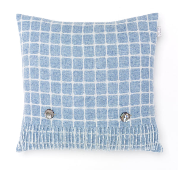 Bronte by Moon - Athens Aqua Cushion