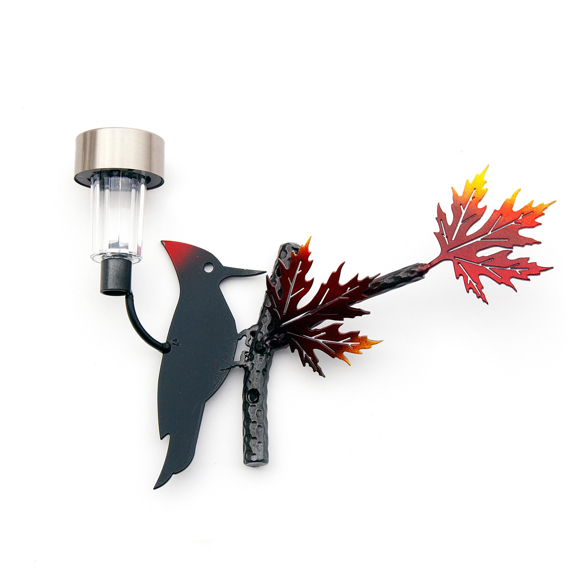 Woodpecker Wall Art Metal Bird for Home Garden Decor & Outdoor Decor Art