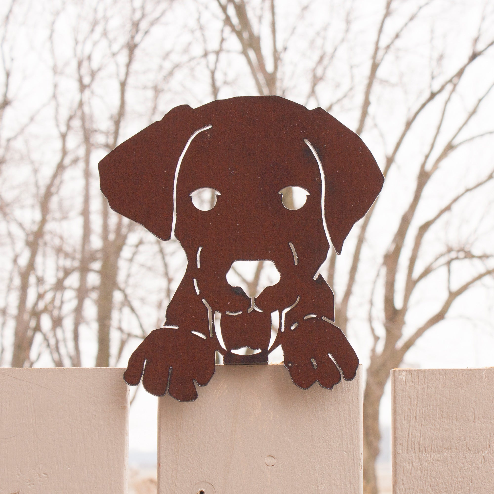 Dog with Paws – puppy for Garden, Fence or Wall Decor