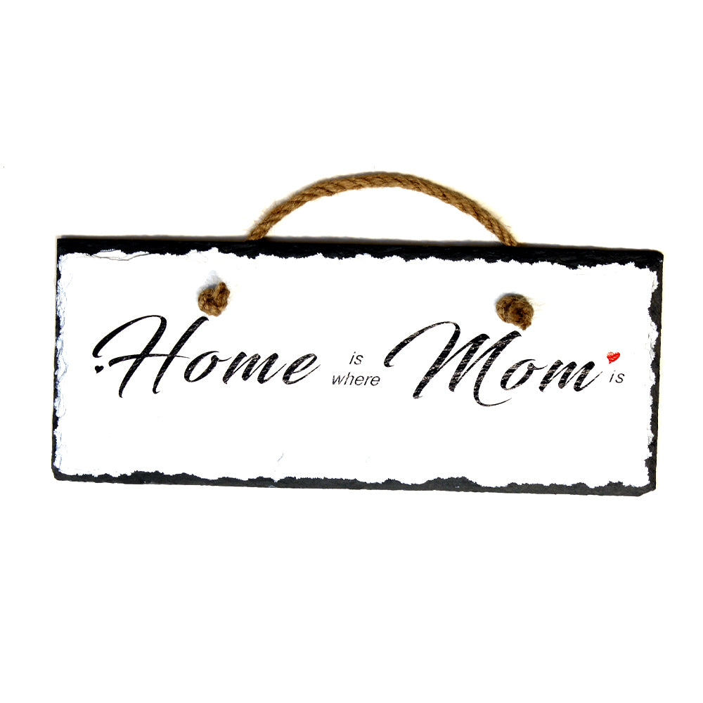 Home Is Where Mom Is, Home Decor, Mother Day Gift,  Wall Decor from Practical Art