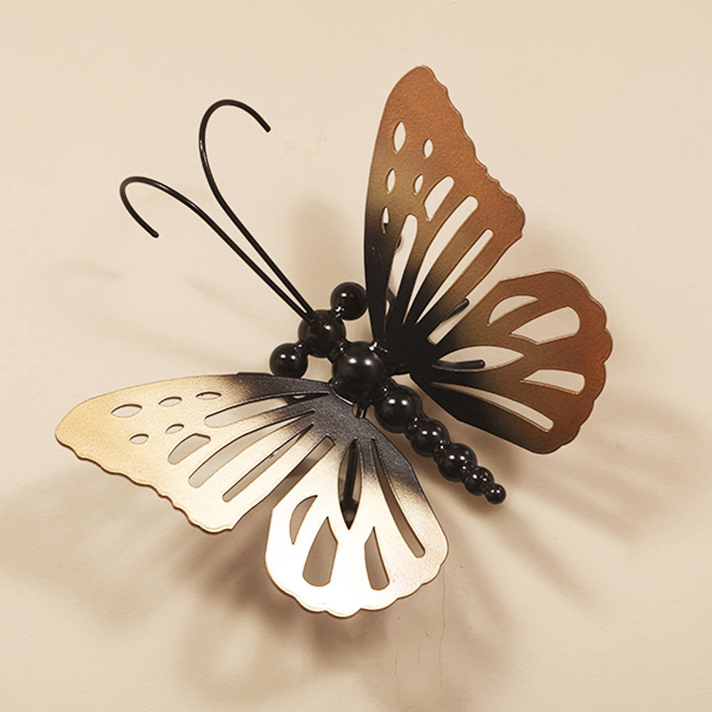 Metal Butterfly: Large Butterflies Wall Art, Metallic Colours ̸ Colors U2013  Practical Art