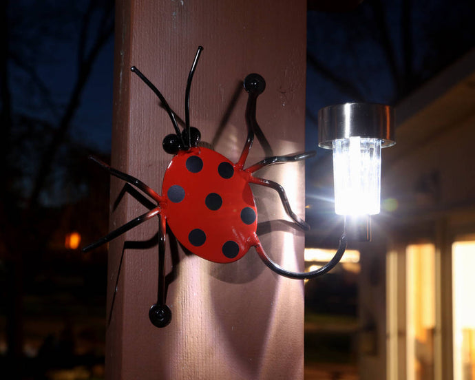 Solar Light Lady Bug