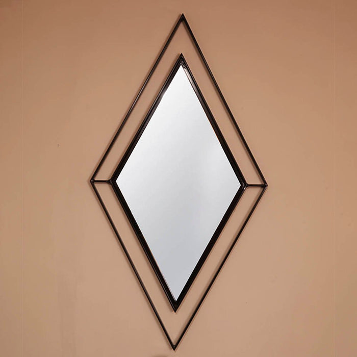 Vertical Diamond Mirror