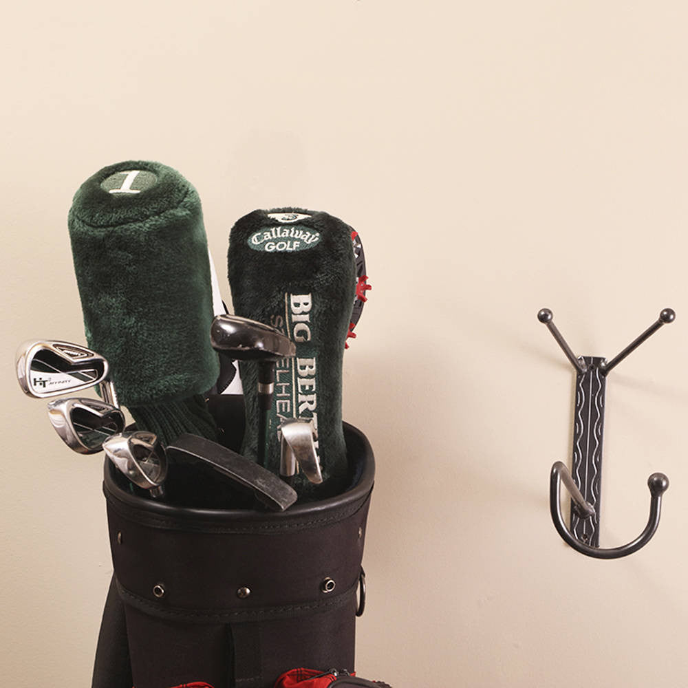 Golf Bag Holder: Wall-mounted Hanger Holders With Hook For Shoes Bags And & Golf Bag Hook: Wall-mounted Golf Bag Holders \u003d Perfect Gift For ...
