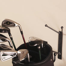Golf Bag Holder: Wall-mounted Hanger Holders With Hook For Shoes, Bags And Unique Items: