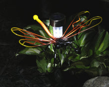 Large Dragonfly Solar Light with Garden Stake