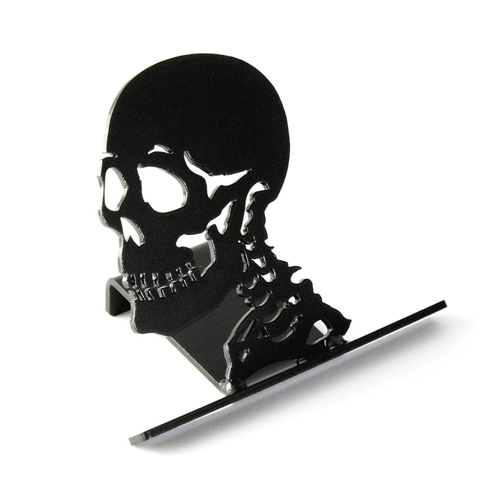 Skull cell phone holder