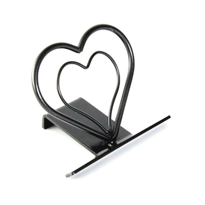 Heart Shaped Cell Phone Holder and Mobile Phone Stand